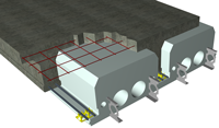 Quad-Deck Insulating Concrete Forms - for FLOORS, ROOFS, and Tilt-Up